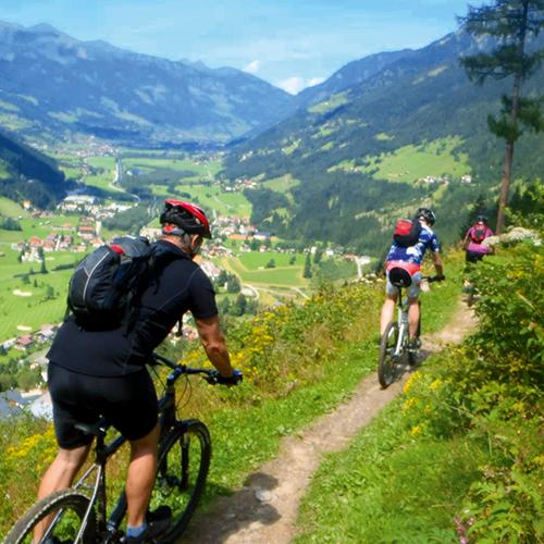 Mountainbike I alperna